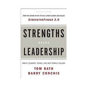 Strengths Based Leadership book cover
