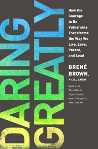 Daring Greatly, Brown, cover