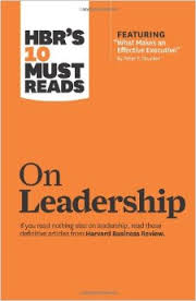 HBR on Leadership cover