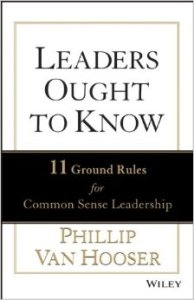 Leaders Ought to Know, Van Hooser, cover