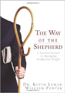 The Way of the Shepherd, Leman and Pentak, cover