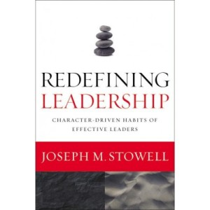 Redefining Leadership, by Joseph Stowell, Cover