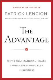The Advantage, Lencioni, cover
